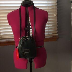Velvet hobo bag